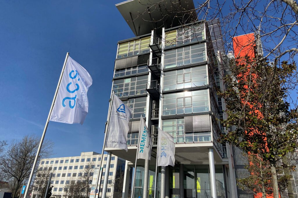 ACS Zentrale in Leipzig